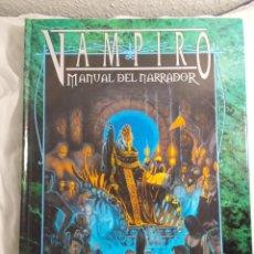 Juegos Antiguos: VAMPIRO MANUAL DEL NARRADOR LA FACTORIA DE IDEAS JUEGO DE ROL . Lote 195597840
