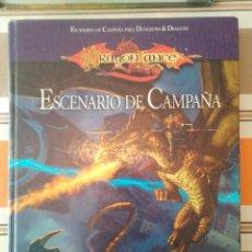 Juegos Antiguos: ESCENARIO DE CAMPAÑA - DRAGONLANCE - ROL - DUNGEONS. Lote 195656663