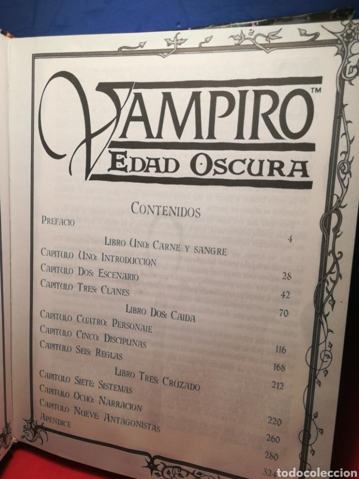 Juegos Antiguos: (Lote ampliado) Libro básico + 8 extensiones juegos de rol de la saga Vampiro de la Edad Oscura - Foto 19 - 194189718