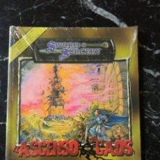 Juegos Antiguos: DUNGEONS & DRAGONS EL ASCENSO DEL CAOS (LA FACTORIA DE IDEAS LFDD216). Lote 196015287