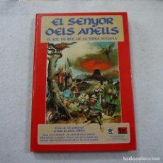 Juegos Antiguos: EL SENYOR DELS ANELLS. EL JOC DE ROL DE LA TERRA MITJANA - JOC INTERNACIONAL S.A. - 1992. Lote 196094233