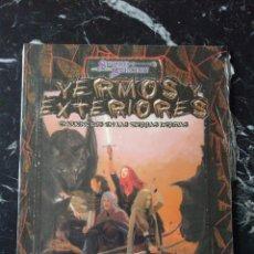 Juegos Antiguos: DUNGEONS & DRAGONS TIERRAS HERIDAS YERMOS Y EXTERIORES (LA FACTORIA DE IDEAS LFDD035). Lote 196125161
