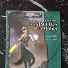Juegos Antiguos: DUNGEONS & DRAGONS LOS VINCULOS DE LA MAGIA (LA FACTORIA DE IDEAS LFDD357). Lote 196229555