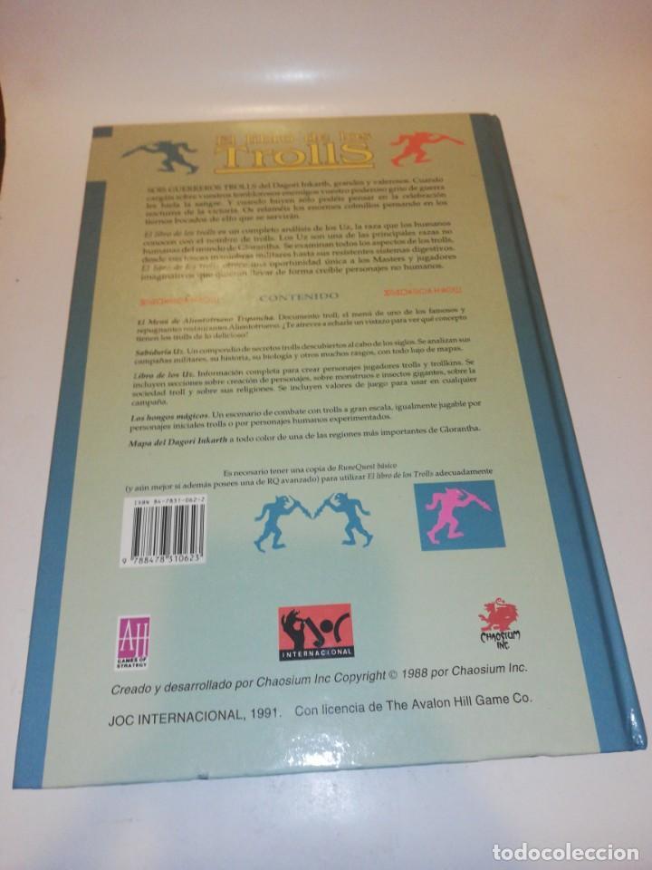 Juegos Antiguos: Juego rol, el libro de los trolls - TAPA DURA - Foto 2 - 213368951