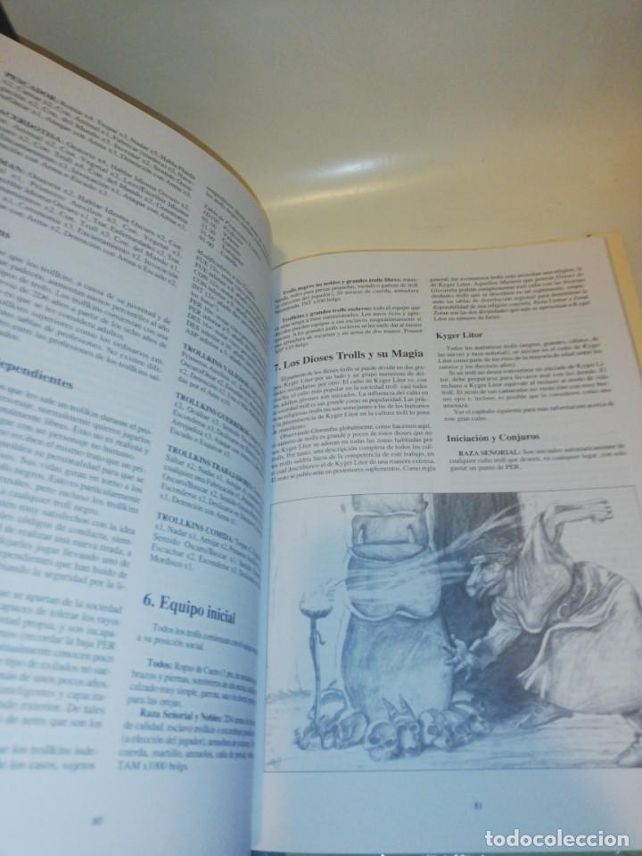 Juegos Antiguos: Juego rol, el libro de los trolls - TAPA DURA - Foto 4 - 213368951