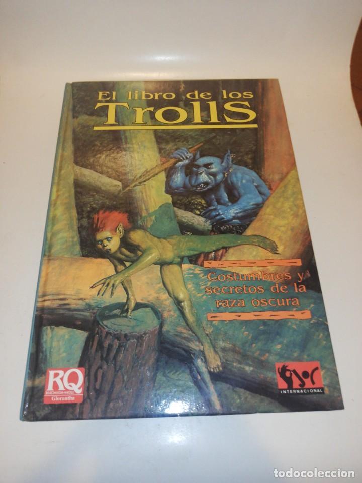 JUEGO ROL, EL LIBRO DE LOS TROLLS - TAPA DURA (Juguetes - Rol y Estrategia - Juegos de Rol)