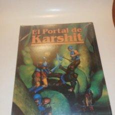 Juegos Antiguos: JUEGO DE ROL EL PORTAL DE KARSHIT , TAPA DURA. Lote 196817987