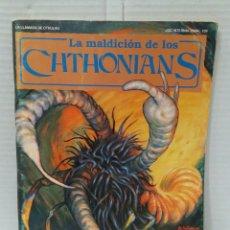 Juegos Antiguos: LA MALDICIÓN DE LOS CHTHONIANS. MÓDULO DE LA LLAMADA DE CTHULHU.NUEVO.JOC INTERNACIONAL 109.1989.ROL. Lote 197729692
