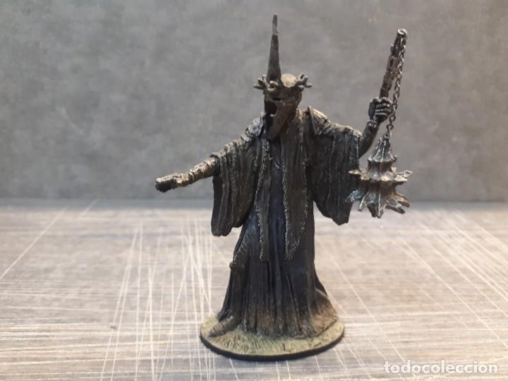 Juegos Antiguos: Señor de los anillos, plomo. 8 figuras - Foto 24 - 197769720