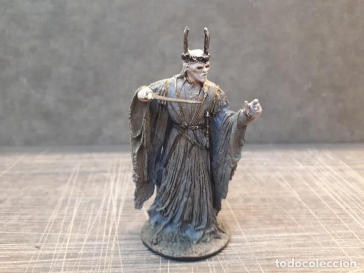 Juegos Antiguos: Señor de los anillos, plomo. 8 figuras - Foto 42 - 197769720
