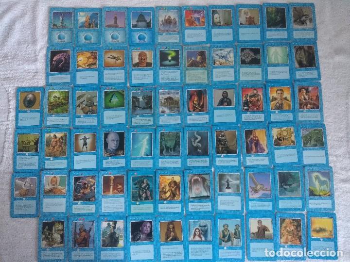 Juegos Antiguos: LA IRA DEL DRAGON/JUEGO DE CARTAS COLECCIONABLE DE 242 CARTAS FOURNIER/COMPLETA A FALTA DE 1 CARTA. - Foto 7 - 198222845