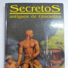 Jogos Antigos: SECRETOS ANTIGUOS DE GLORANTHA/RUNEQUEST/LIBRO DE ROL JOC INTERNACIONAL.. Lote 198230726