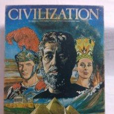 Juegos Antiguos: JUEGO DE ESTRATEGIA CIVILIZACION/AVALON HILL/INCOMPLETO.. Lote 198503255