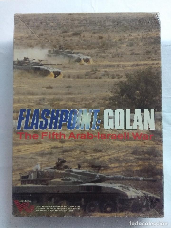 JUEGO DE ESTRATEGIA FLASHPOINT:GOLAN/THE FIFTH ARAB-ISRAELI WAR/VICTORY GAMES/SIN DESTROQUELAR. (Juguetes - Rol y Estrategia - Juegos de Rol)