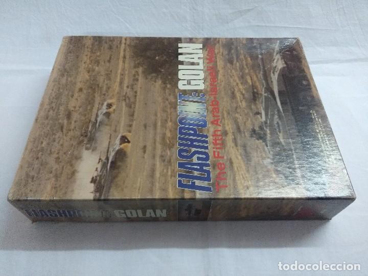 Juegos Antiguos: JUEGO DE ESTRATEGIA FLASHPOINT:GOLAN/THE FIFTH ARAB-ISRAELI WAR/VICTORY GAMES/SIN DESTROQUELAR. - Foto 2 - 198504275
