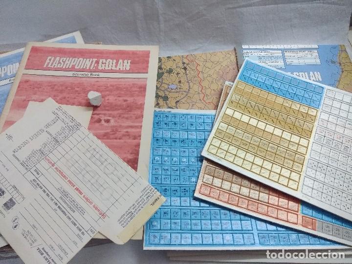 Juegos Antiguos: JUEGO DE ESTRATEGIA FLASHPOINT:GOLAN/THE FIFTH ARAB-ISRAELI WAR/VICTORY GAMES/SIN DESTROQUELAR. - Foto 4 - 198504275