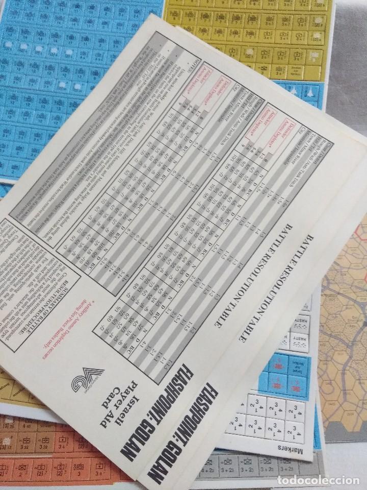 Juegos Antiguos: JUEGO DE ESTRATEGIA FLASHPOINT:GOLAN/THE FIFTH ARAB-ISRAELI WAR/VICTORY GAMES/SIN DESTROQUELAR. - Foto 7 - 198504275