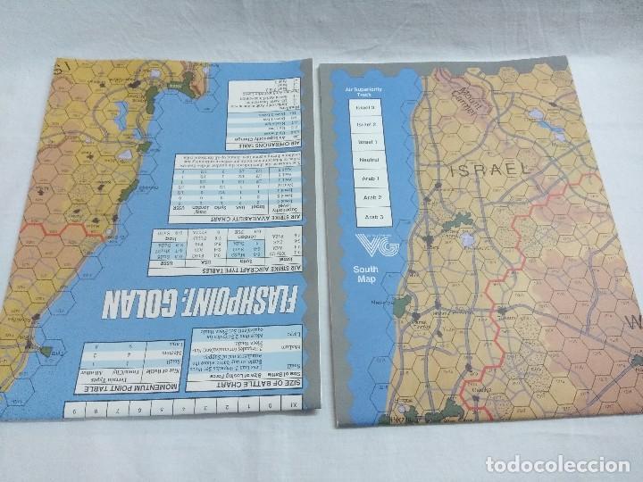 Juegos Antiguos: JUEGO DE ESTRATEGIA FLASHPOINT:GOLAN/THE FIFTH ARAB-ISRAELI WAR/VICTORY GAMES/SIN DESTROQUELAR. - Foto 8 - 198504275