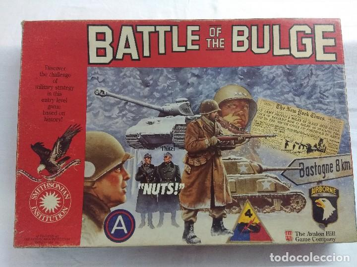 JUEGO DE ESTRATEGIA/BATTLE OF THE BULGE/AVALON HILL/A FALTA DE MANUAL. (Juguetes - Rol y Estrategia - Juegos de Rol)