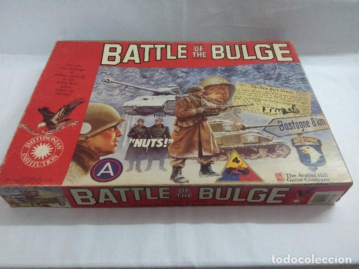 Juegos Antiguos: JUEGO DE ESTRATEGIA/BATTLE OF THE BULGE/AVALON HILL/A FALTA DE MANUAL. - Foto 2 - 198506297