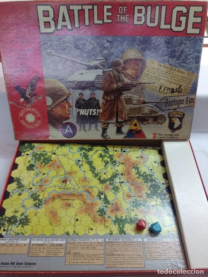 Juegos Antiguos: JUEGO DE ESTRATEGIA/BATTLE OF THE BULGE/AVALON HILL/A FALTA DE MANUAL. - Foto 3 - 198506297