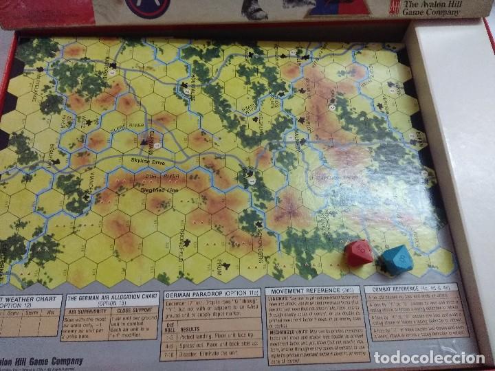 Juegos Antiguos: JUEGO DE ESTRATEGIA/BATTLE OF THE BULGE/AVALON HILL/A FALTA DE MANUAL. - Foto 4 - 198506297