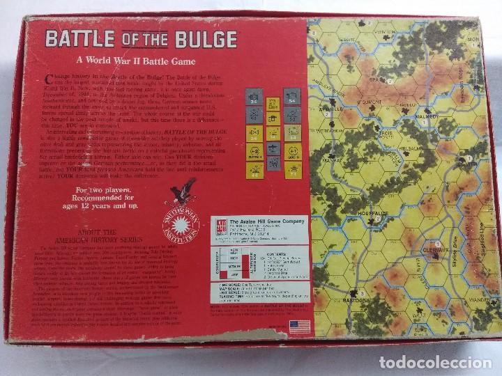 Juegos Antiguos: JUEGO DE ESTRATEGIA/BATTLE OF THE BULGE/AVALON HILL/A FALTA DE MANUAL. - Foto 7 - 198506297