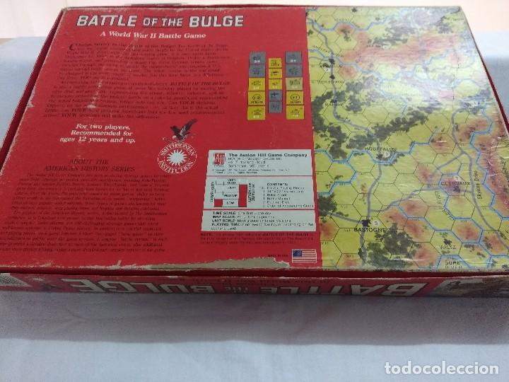 Juegos Antiguos: JUEGO DE ESTRATEGIA/BATTLE OF THE BULGE/AVALON HILL/A FALTA DE MANUAL. - Foto 8 - 198506297