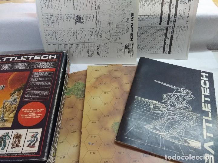 Juegos Antiguos: JUEGO DE ESTRATEGIA/BATTLETECH/JUEGO DE GUERRA MECANIZADA/FASA-DISEÑOS ORBITALES. - Foto 3 - 198507932