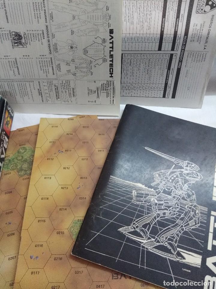 Juegos Antiguos: JUEGO DE ESTRATEGIA/BATTLETECH/JUEGO DE GUERRA MECANIZADA/FASA-DISEÑOS ORBITALES. - Foto 5 - 198507932