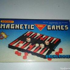 Juegos Antiguos: MAGNETIC GAMES DE POCKET TRAVEL. Lote 199176755
