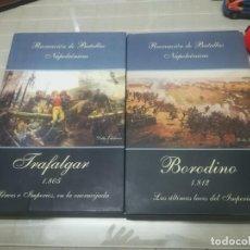 Juegos Antiguos: JUEGO DE ESTRATEGIA RECREACIONES DE BATALLAS NAPOLEONICAS 1 Y 2 TRAFALGAR Y BORODINO DELTA EDICIONES. Lote 199432597