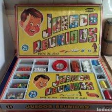 Juegos Antiguos: JUEGOS REUNIDOS GEYPER DE 25 JUEGOS AÑOS 70. Lote 199589207