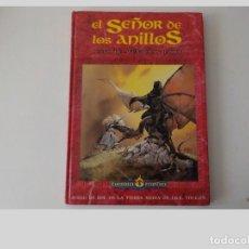 Juegos Antiguos: LIBRO.EL SEÑOR DE LOS ANILLOS JUEGO DE AVENTURAS BASICO. Lote 199858663