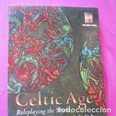 Juegos Antiguos: CELTIC AGE HEROES AVALANCHE PRESS LIBRO ROL. Lote 199985992