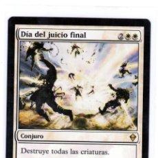 Juegos Antiguos: DIA DEL JUICIO FINAL ,MAGIC THE GATHERING. Lote 200801803