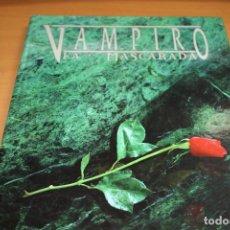 Juegos Antiguos: VAMPIRO LA MASCARADA LIBRO JUEGO ROL . Lote 201167425