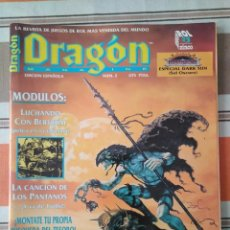 Juegos Antiguos: REVISTA DRAGON ROL 2 - DUNGEONS DARK SUN. Lote 201223381