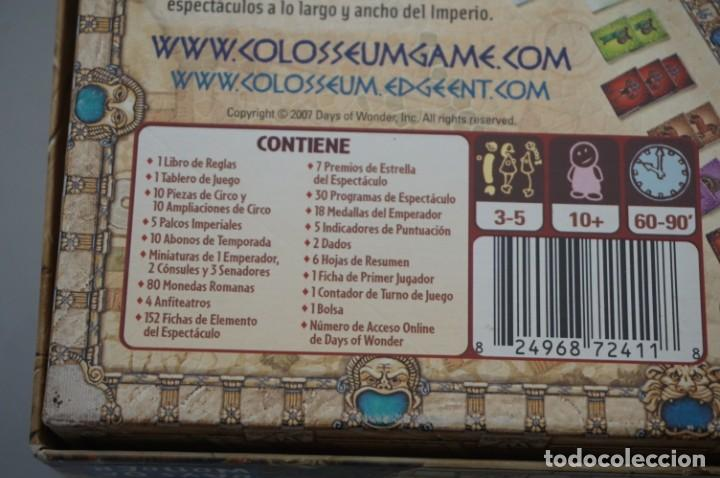 Juegos Antiguos: JUEGO DE MESA COLOSSEUM - TOTALMENTE NUEVO SIN ESTRENAR / DAYS OF WONDER - Foto 9 - 201537443