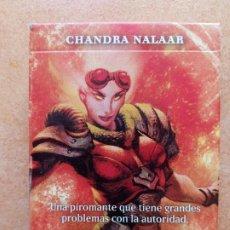 Juegos Antiguos: CHANDRA NALAAR- MAZO 30 CARTAS Y GUIA DE COMIENZO RAPIDO MAGIC GATHERING. Lote 201761512