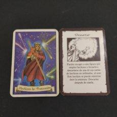 Juegos Antiguos: HERO QUEST AMPLIACIÓN LOS HECHICEROS DE MORCAR - HECHIZOS DE DETECCIÓN - DESCARTAR ORIGINAL. Lote 203190632