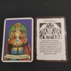 Juegos Antiguos: HERO QUEST AMPLIACIÓN LOS HECHICEROS DE MORCAR - HECHIZOS DE DETECCIÓN - CLARIVIDENCIA ORIGINAL. Lote 203193366