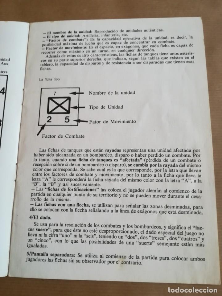 Juegos Antiguos: COMPONENTES JUEGO NAC ROMMEL Y MONTGOMERY - Foto 6 - 203390748
