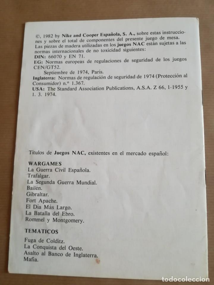 Juegos Antiguos: COMPONENTES JUEGO NAC ROMMEL Y MONTGOMERY - Foto 8 - 203390748