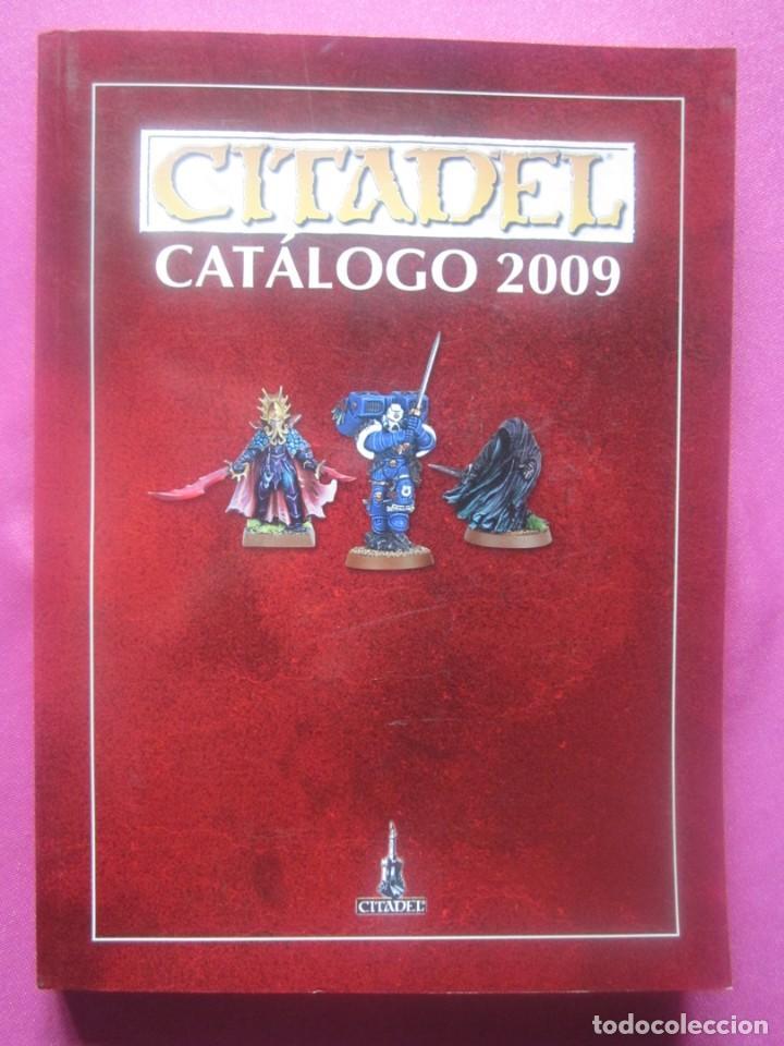 CATALOGO CITADEL 2009 WARHAMMER ROL 424 PAGINAS. (Juguetes - Rol y Estrategia - Juegos de Rol)