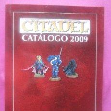 Juegos Antiguos: CATALOGO CITADEL 2009 WARHAMMER ROL 424 PAGINAS.. Lote 234977400