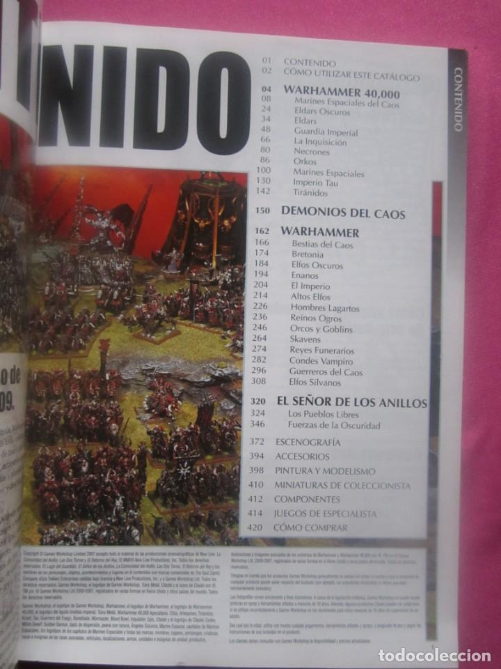 Juegos Antiguos: CATALOGO CITADEL 2009 WARHAMMER ROL 424 PAGINAS. - Foto 2 - 234977400