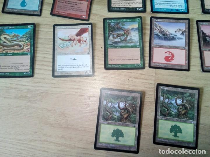Juegos Antiguos: LOTE 31 CARTAS DE MAGIC THE GATHERING DECKMASTER - Foto 3 - 54186256