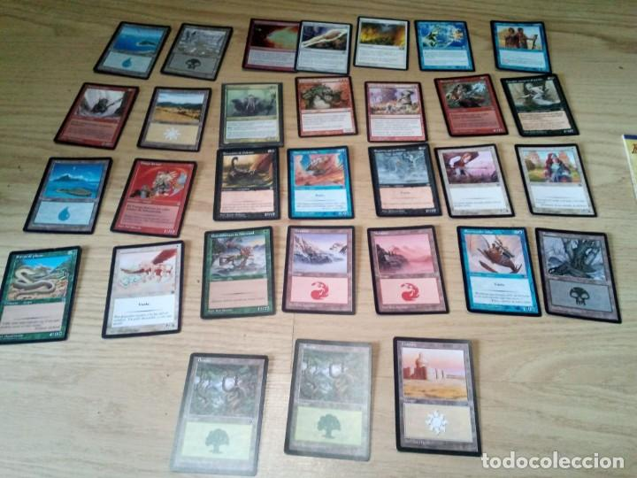Juegos Antiguos: LOTE 31 CARTAS DE MAGIC THE GATHERING DECKMASTER - Foto 1 - 54186256