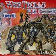 Jogos Antigos: 033 DARK ALLIANCE 1/72 WAR TROLLS FOR CATAPULT SET 4 IT: ALL72033. Lote 204779420